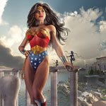 Wonder Woman DC Doug Shuler DAZ 3D Comic Art Illustration