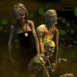 Zombie DAZ 3D Digital Art Illustration
