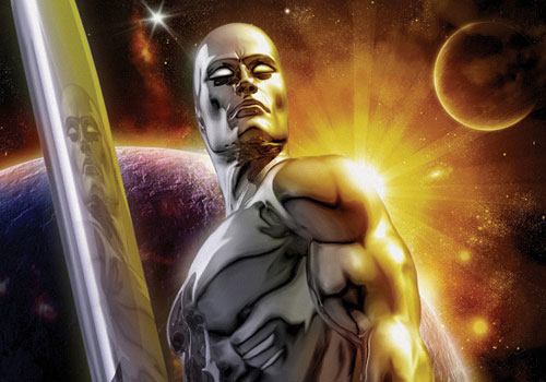 Silver Surfer - by Eamon