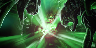 Green Lantern - by Sam