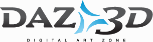 DAZ 3D - Digital Art Zone Logo