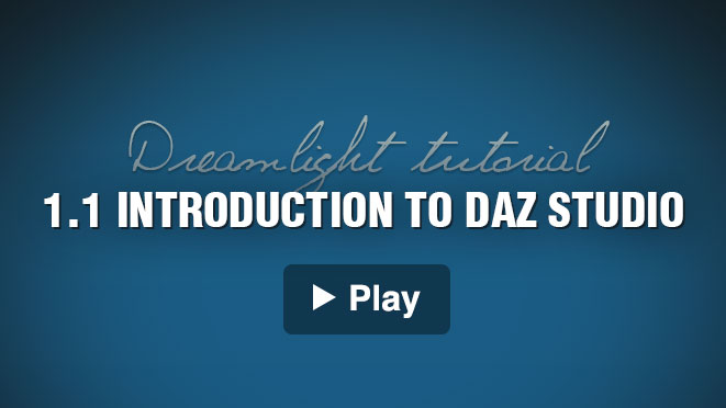 Video Intro To Daz Studio