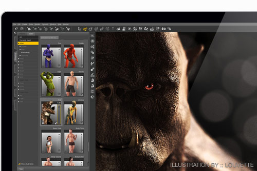 Daz Studio Techspecs