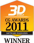 3D World - CG Awards 2011 Winner