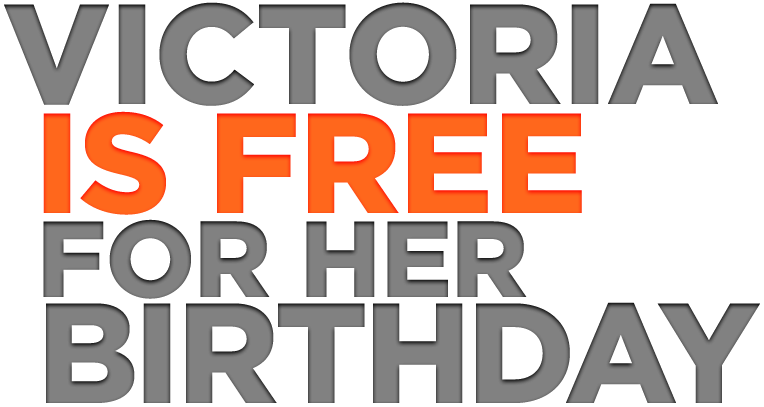 Victoria is Free for her Birthday | 3D Models and 3D
