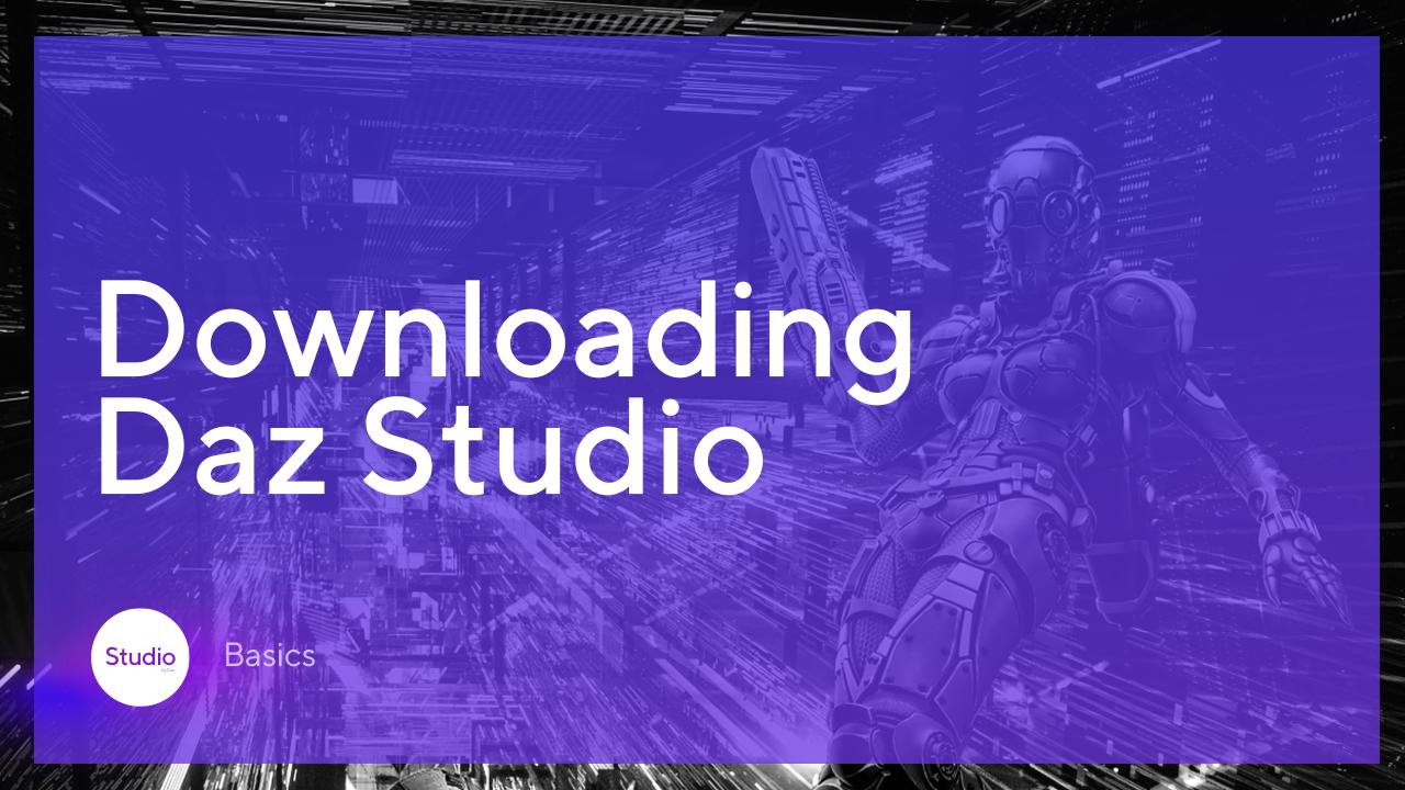 downloading daz